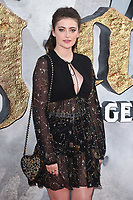 """Millie Brady<br /> at the premiere of """"King Arthur:Legend of the Sword"""" at the Empire Leicester Square, London. <br /> <br /> <br /> ©Ash Knotek  D3265  10/05/2017"""