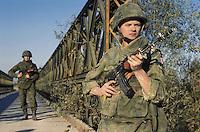 - Polish  soldiers participating in NATO exercises in Friuli....- militari polacchi partecipano ad esercitazioni NATO in Friuli