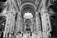 Città del Vaticano, Basilica di San Pietro --- Vatican City, The Papal Basilica of Saint Peter (St. Peter's Basilica)