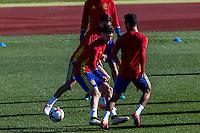 Spainsh Sergio Escudero during the training of the spanish national football team in the city of football of Las Rozas in Madrid, Spain. November 10, 2016. (ALTERPHOTOS/Rodrigo Jimenez) ///NORTEPHOTO.COM