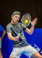 Alphen aan den Rijn, Netherlands, December 22, 2019, TV Nieuwe Sloot,  NK Tennis, Final men single: Tim van Rijthoven (NED)<br /> Photo: www.tennisimages.com/Henk Koster