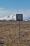 Road trip, Nevada, State highwy 278, basin and range, landscape,