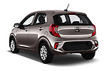 Car pictures of rear three quarter view of 2017 KIA Picanto Fusion 5 Door Hatchback angular rear