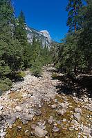 Yosemite valley creek, Yosemite national park, California, USA