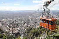 BOGOTA-COLOMBIA-7-01-2013.Panorámicas de Bogotá.Panoramic views of Bogota.(Photo:VizzorImage/Felipe Caicedo). .