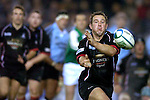 Pic Kenny Smith.......Edinburgh Gunners V Newcastle Falcons..Gunners Brendan Laney passes out the ball.