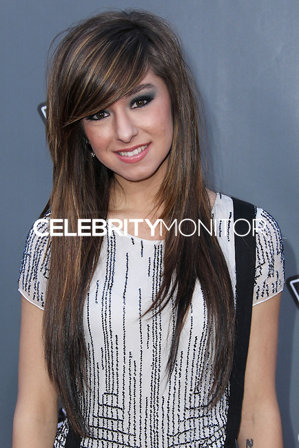 """UNIVERSAL CITY, CA, USA - APRIL 15: Christina Grimmie at NBC's """"The Voice"""" Season 6 Top 12 Red Carpet Event held at Universal CityWalk on April 15, 2014 in Universal City, California, United States. (Photo by Xavier Collin/Celebrity Monitor)"""