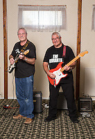 Player's pensioners Bob Blackhurst (left) and Gordon Goodwin have reformed their band The Vibrants, which they started in 1961