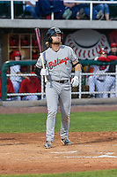 Cassidy Brown (39) of the Billings Mustangs at bat against the Orem Owlz in Game 2 of the Pioneer League Championship at Home of the Owlz on September 16, 2016 in Orem, Utah. Orem defeated Billings 3-2 and are the 2016 Pioneer League Champions. (Stephen Smith/Four Seam Images)