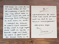BNPS.co.uk (01202) 558833. <br /> Pic: DavidLay/BNPS<br /> <br /> Pictured: The letter dated May 2nd 1991. <br /> <br /> Letters from Princess Diana that reveal the depth of feeling she had for her closest friends who helped her through separation from Charles have come to light.<br /> <br /> One of her most important friendships at the time of her marriage break up was with Lucia Flecha di Lima, the wife of the Brazilian ambassador to the UK.<br /> <br /> In a letter written in April 1991 Diana described her new friend as 'a wonderful lady with such depth' who had already had a 'huge impact' in her life. <br /> <br /> A second letter described the champagne lunches they used to enjoy and a third references the historic moment of William's first investiture aged 11.