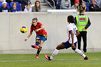HARRISON, NJ - MARCH 08: Marta Cardona #9 of Spain during a game between Spain and USWNT at Red Bull Arena on March 08, 2020 in Harrison, New Jersey.