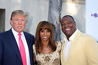 LOS ANGELES - JUL 24:  Trump_Peete at the 12th Annual HollyRod Foundation DesignCare Event at the Green Acres Estate on July 24, 2010 in Beverly Hills, CA
