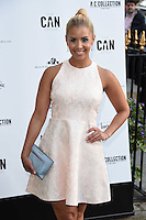 Shanie Ryan<br /> arrives for the Amy Childs Summer Collection show at Beach Blanket Babylon, Notting Hill, London.<br /> <br /> <br /> ©Ash Knotek  D3129  06/06/2016