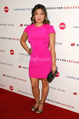 Jenna Ushkowitz at the 3rd Annual Give & Get Fete benefiting Dress For Success Worldwide-West at The London Hotel on November 7, 2011 in West Hollywood, California. © mpi21 / MediaPunch Inc.