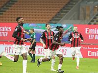 Milano 03-03-2021<br /> Stadio Giuseppe Meazza<br /> Serie A  Tim 2020/21<br /> Milan - Udinese<br /> nella foto:  Kessie Esultanza                                                    <br /> Antonio Saia