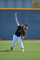 Dylan Crews during the Under Armour All-America Pre-Season Tournament, powered by Baseball Factory, on January 19, 2019 at Sloan Park in Mesa, Arizona.  Dylan Crews is an outfielder from Longwood, Florida who attends Lake Mary High School and is committed to LSU.  (Mike Janes/Four Seam Images)