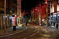 2020 12 04 New restrictions Covid 19, WindStreet, Swansea, Wales, UK