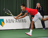 19-01-14,Netherlands, Rotterdam,  TC Victoria, Wildcard Tournament, ,   Final,    Fabian van der Lans (NED)<br /> Photo: Henk Koster