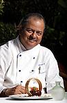 21 MAY 2010:    HI RES IMAGES    Wasabi Restaurant at Taj Mahal Hotel, New Delhi celebrating its second anniversary with Mumbai chef Hermant Oberoi. pic Graham Crouch/ Taj Hotels