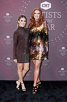 Cassie DiLaura, Alecia Davis attend the 2021 CMT Artist of the Year on October 13, 2021 in Nashville, Tennessee. Photo: Ed Rode/imageSPACE/MediaPunch