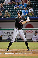 Albuquerque Isotopes left fielder Tim Wheeler (7) at bat against the New Orleans Zephyrs in a game at Zephyr Field on May 28, 2015 in Metairie, Louisiana. (Derick E. Hingle/Four Seam Images)