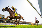 MAY 29, 2021: United and Flavien Prat race in the Charlie Whittingham Stakes at Santa Anita Park in Arcadia, California on May 29, 2021. EversEclipse Sportswire/CSM