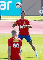 Spain's Thiago Alcantara during training session. June 5,2017.(ALTERPHOTOS/Acero)