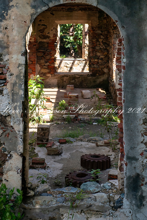 Reef Bay Plantation Ruins<br /> Reef Bay<br /> Virgin Islands National Park<br /> St. John, USVI