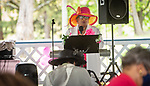 WATERBURY, CT 050821JS08—Keynote speaker State Senator Marilyn Moore (D-22nd District) addresses guests during a Mother's Day celebration held Saturday at Lakewood Park in Waterbury. The event was hosted by the Black Women United Committee. <br /> Jim Shannon Republican American