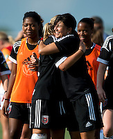 Cindi Harkes.  The D.C. United Women defeated the Charlotte Lady Eagles, 3-0, to win the W-League Eastern Conference Championship.