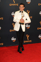 LOS ANGELES - SEP 18:  Rami Malek at the 2016 Primetime Emmy Awards - Press Room at the Microsoft Theater on September 18, 2016 in Los Angeles, CA