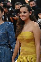 CANNES, FRANCE. July 10, 2021: Melati Wijsen at the premiere of Peaceful (De Son Vivant) at the 74th Festival de Cannes.<br /> Picture: Paul Smith / Featureflash