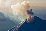 Pavlof Volcano. Izembek NWR, Alaska.