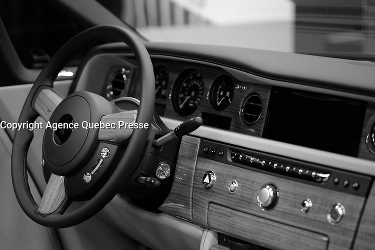 ROLLS-ROYCE<br /> 2016 model at Montreal car show. January 15, 2016<br /> <br /> Photo : Pierre Roussel - Agence Quebec Presse<br /> <br /> <br /> <br /> <br /> <br /> <br /> <br /> <br /> <br /> <br /> <br /> .
