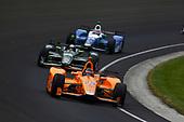 Verizon IndyCar Series<br /> Indianapolis 500 Race<br /> Indianapolis Motor Speedway, Indianapolis, IN USA<br /> Sunday 28 May 2017<br /> Fernando Alonso, McLaren-Honda-Andretti Honda<br /> World Copyright: Phillip Abbott<br /> LAT Images