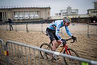 Toon Vandebosch (BEL/Pauwels Sauzen-Bingoal)<br /> <br /> UCI 2021 Cyclocross World Championships - Ostend, Belgium<br /> <br /> U23 Men's Race<br /> <br /> ©kramon