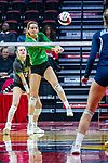 16 November 2019:    Nazareth Academy Roadrunners v University High Pioneers in Redbird Arena, Normal Illinois for the IHSA Class 3A Consolation State Volleyball match
