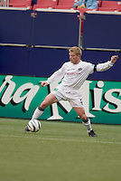New England Revolution's Joe Franchino. The New England Revolution played the NY/NJ MetroStars to a 1 to 1 tie at Giant's Stadium, East Rutherford, NJ, on April 25, 2004.