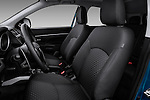 Front seats of a 2011 Mitsubishi Outlander Sport SE