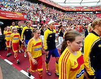 Fifa Women's World Cup Germany 2011 : Colombia - Sweden at Bayarena Leverkusen : Sara THUNEBRO..foto DAVID CATRY / Vrouwenteam.be