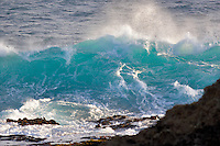 Large wave off coast near Mendoceno. California