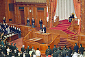Japan's Ordinary Session Opening of Parliament