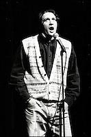 Laval (Qc) CANADA - Dec 5 1992 File Photo- Laval Qui Rit, comedy contest - Stephane Fallu