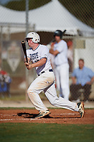 Marty Higgins during the WWBA World Championship at the Roger Dean Complex on October 19, 2018 in Jupiter, Florida.  Marty Higgins is a shortstop from Nutley, New Jersey who attends Nutley High School and is committed to St. John's.  (Mike Janes/Four Seam Images)