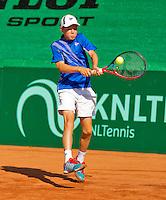 Netherlands, Rotterdam August 07, 2015, Tennis,  National Junior Championships, NJK, TV Victoria,  Lodewijk Weststrate<br /> Photo: Tennisimages/Henk Koster