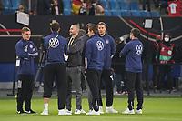 Deutsche Spieler im Innenraum - Hamburg 08.10.2021: Deutschland vs. Rumänien, Volksparkstadion Hamburg