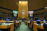 USA<br /> <br /> <br /> General Assembly 70th session 27th plenary meeting<br /> Appointment of the Secretary-General of the United Nations [item 113]<br /> (a) Letter from the President of the Security Council to the President of the General Assembly (A/71/531) <br /> (b) Draft resolution (A/71/L.4 (to be issued))