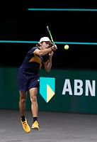Rotterdam, The Netherlands, 3 march  2021, ABNAMRO World Tennis Tournament, Ahoy, First round singles: Alex De Minaur (AUS).<br /> Photo: www.tennisimages.com/henkkoster