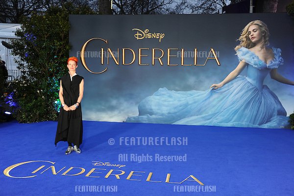 """Sandy Powell arrives for the """"Cinderella"""" premiere at the Odeon Leicester Square, London. 19/03/2015 Picture by: Steve Vas / Featureflash"""