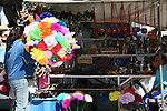 PAPER FLOWERS AND CURIOS FOR SALE IN BAJA BORDER TOWN